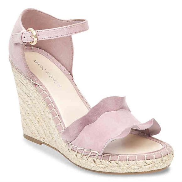 8b43feaba05 NWT Marc Fisher  Wedge Sandals -Kickoff Espadrille